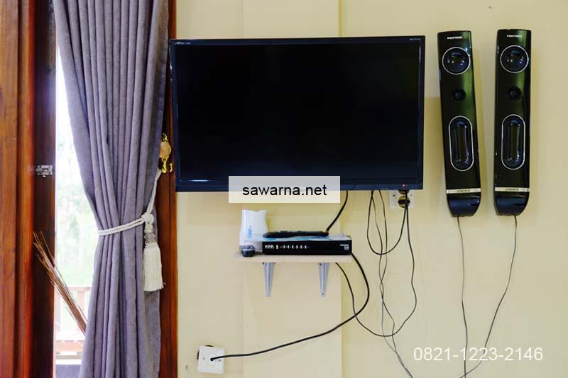 Fasilitas Homestay Andrew Sawarna