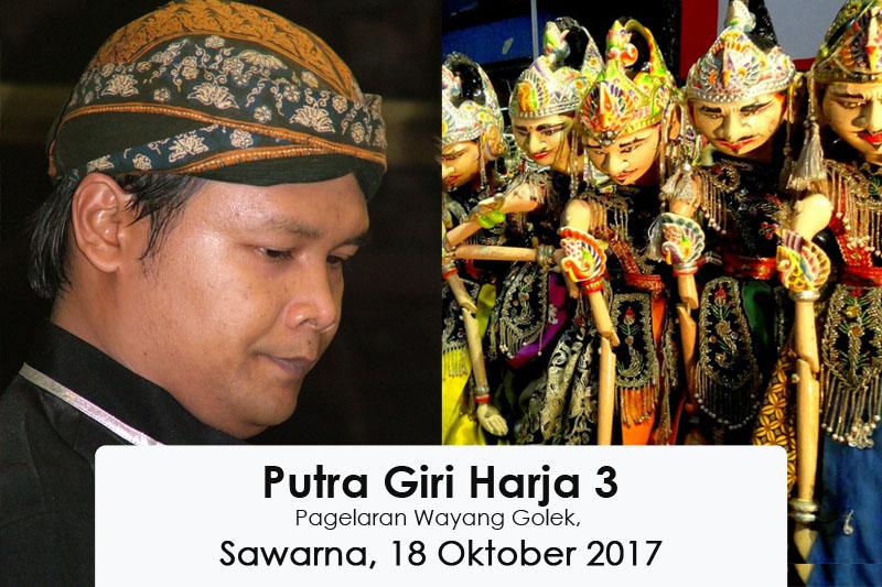 Pagelawan Wayang Goleng Sawarna