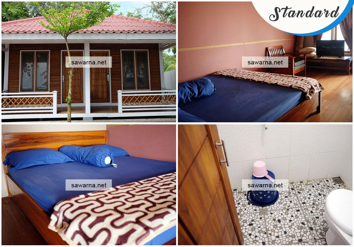 Pulman Lampion Cottage Sawarna Standard Room