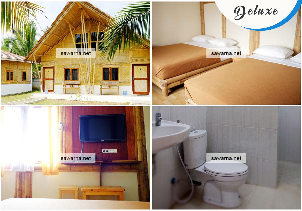 Sawarna Paradiso Deluxe Room Penginapan Sawarna Untuk Keluarga