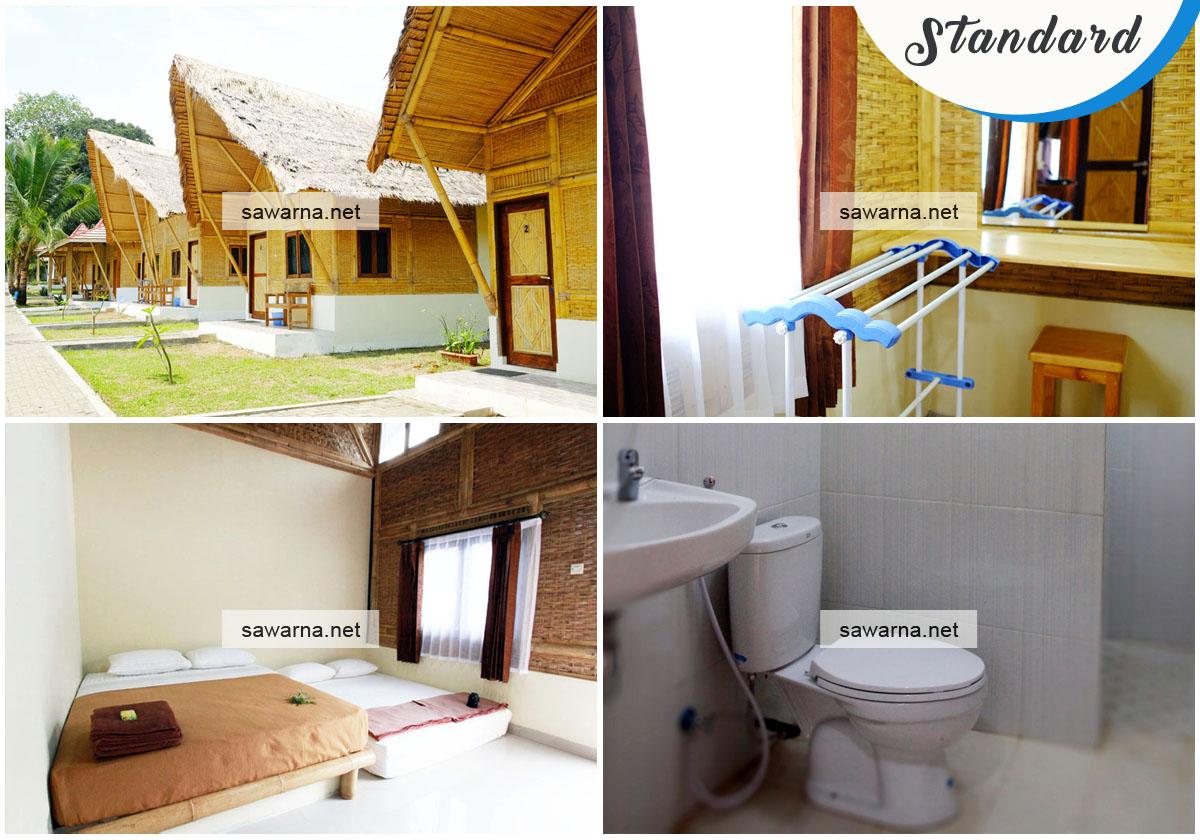 Sawarna Paradiso Standard Room Penginapan Sawarna