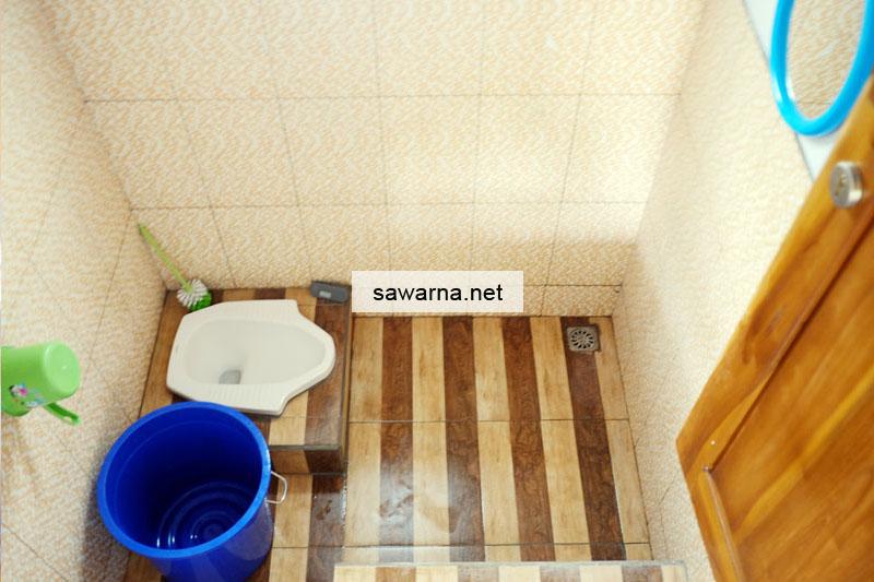 Kamar Mandi Standar AC Sinar Matahari Resort