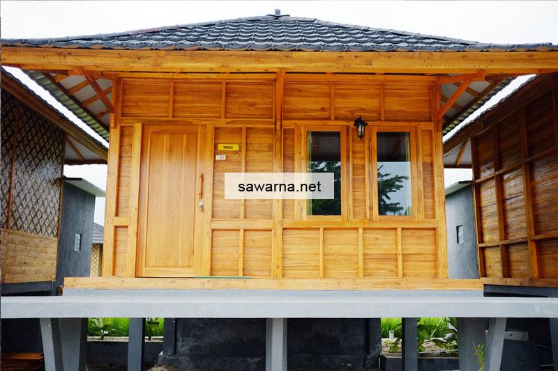 Room Superior Sinar Matahari Resort dari depan