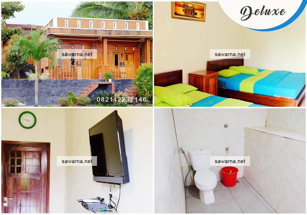 Villa Bukit Indah Sawarna Kamar Tipe Deluxe Room