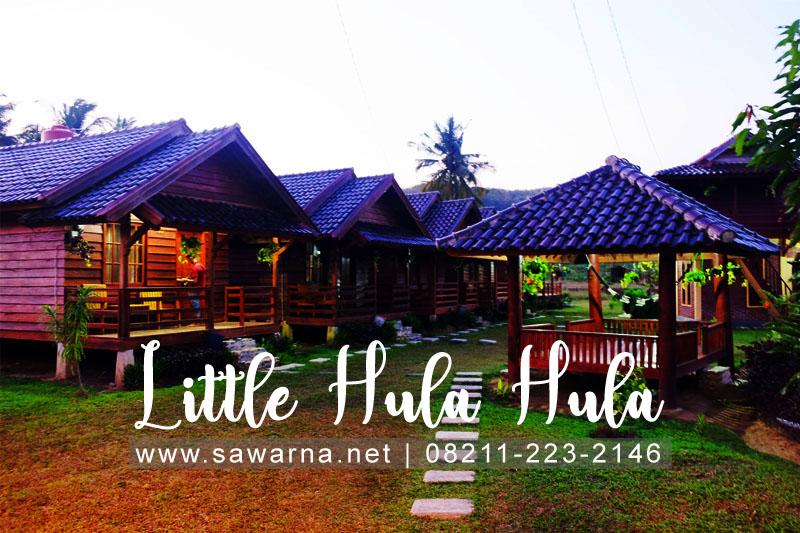 Villa Little Hula Hula Sawarna