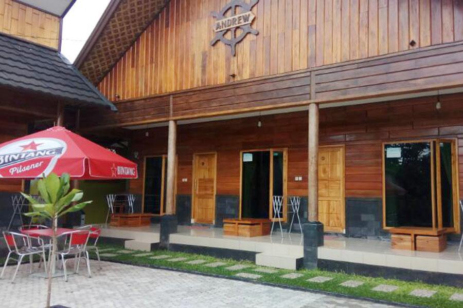 Tempat Privat Andrew Pasput Sawarna