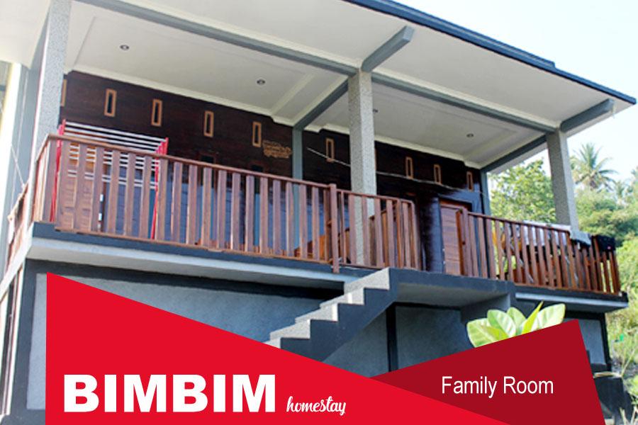 Homestay Bimbim Sawarna - Family Room