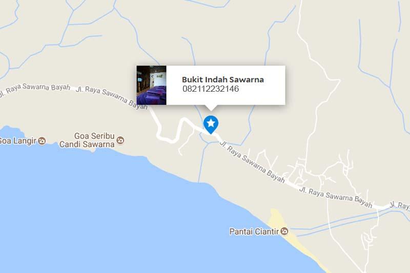 lokasi bukit indah Sawarna