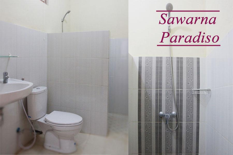 Kamar Mandi Resort Sawarna Paradiso