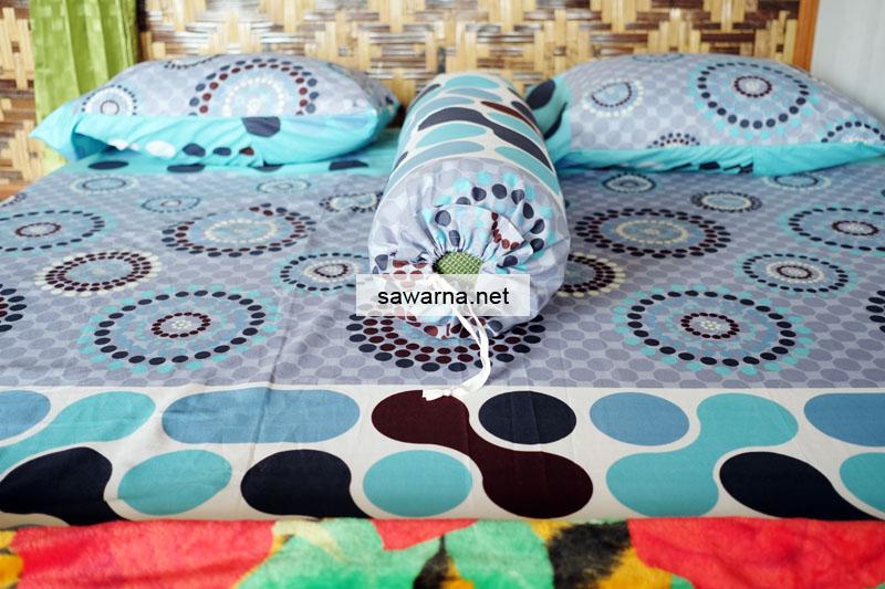 Tempat Tidur Kamar non ac Sinar Matahari Resort