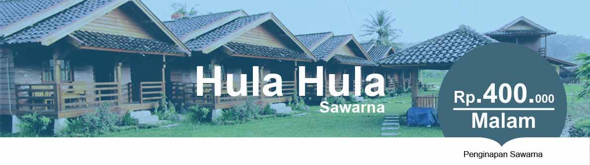 Penginapan Villa Little Hula Hula Sawarna