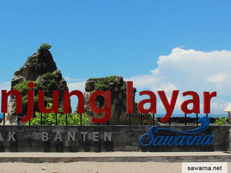 Wisata Sawarna Tanjung Layar
